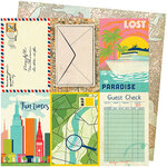 American Crafts - Let's Wander Collection - 12 x 12 Double Sided Paper - Lost In Paradise