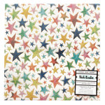 American Crafts - Let's Wander Collection - 12 x 12 Specialty Paper - Vellum with Champagne Gold Foil