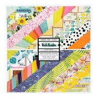 American Crafts - Let's Wander Collection - 12 x 12 Paper Pad