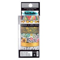 American Crafts - Let's Wander Collection - Washi Tape with Foil Accents