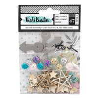 American Crafts - Let's Wander Collection - Embellishment Pack