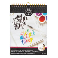 Kelly Creates - Watercolor Brush Lettering Collection - Words Workbook