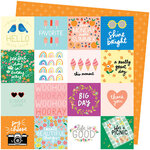 American Crafts - Picnic in the Park Collection - 12 x 12 Double Sided Paper- Life's a Picnic