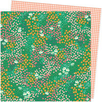 American Crafts - Picnic in the Park Collection - 12 x 12 Double Sided Paper- Pretty Patches