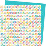 American Crafts - Picnic in the Park Collection - 12 x 12 Double Sided Paper- All the Colors