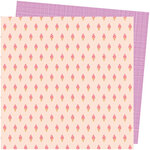 American Crafts - Picnic in the Park Collection - 12 x 12 Double Sided Paper- Soft Serve
