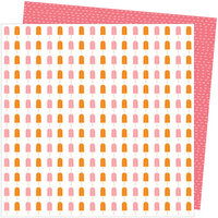 American Crafts - Picnic in the Park Collection - 12 x 12 Double Sided Paper- Sweet Treat