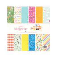 Amy Tangerine - Picnic in the Park Collection - 12 x 12 Paper Pad