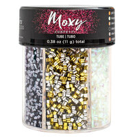 American Crafts - Moxy Bottled Glitter - Tube Confetti - Metallic