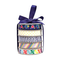 American Crafts - Premium Ribbon Spool - Cheerful - 5 Piece