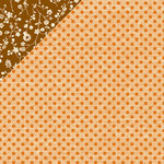 American Crafts - Amy Tangerine Collection - 12 x 12 Double Sided Paper - Orange You Glad