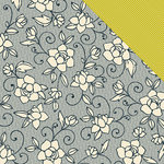 American Crafts - Amy Tangerine Collection - 12 x 12 Double Sided Paper - Rose Ave.
