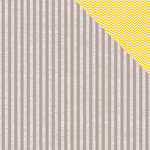 American Crafts - Amy Tangerine Collection - 12 x 12 Double Sided Paper - Oh Happy Grey