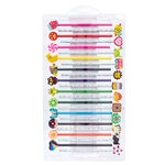 American Crafts - Art Supply Basics Collection - Pencil and Eraser Kit - Unicorn - 48 Pieces