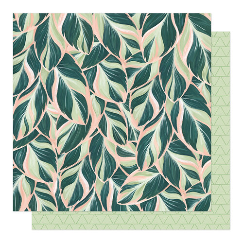 1 Canoe 2 - Willow Collection - 12 x 12 Double Sided Paper - Lush