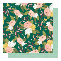 1 Canoe 2 - Willow Collection - 12 x 12 Double Sided Paper - Ambrose Blooms