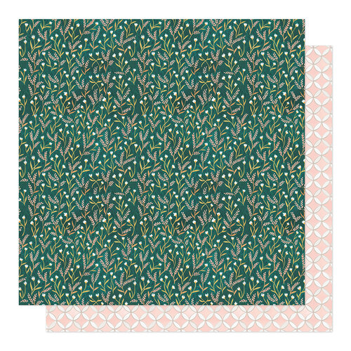 1 Canoe 2 - Willow Collection - 12 x 12 Double Sided Paper - Emerald Meadows