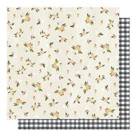 1 Canoe 2 - Willow Collection - 12 x 12 Double Sided Paper - Posies