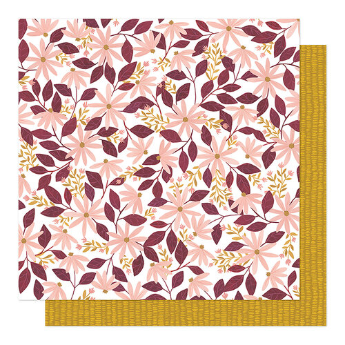 1 Canoe 2 - Willow Collection - 12 x 12 Double Sided Paper - Flourish