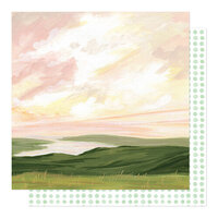 1 Canoe 2 - Willow Collection - 12 x 12 Double Sided Paper - Getaway