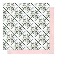 1 Canoe 2 - Willow Collection - 12 x 12 Double Sided Paper - Simple Pleasures