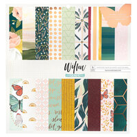 1 Canoe 2 - Willow Collection - 12 x 12 Paper Pad with Copper Foil Accents