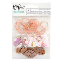 1 Canoe 2 - Willow Collection - Mixed Embellishments with Copper Foil Accents