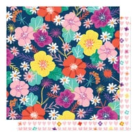 Shimelle Laine - Never Grow Up Collection - 12 x 12 Double Sided Paper - Face The Sun