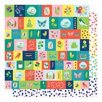 American Crafts - Never Grow Up Collection - 12 x 12 Double Sided Paper - Small Discoveries