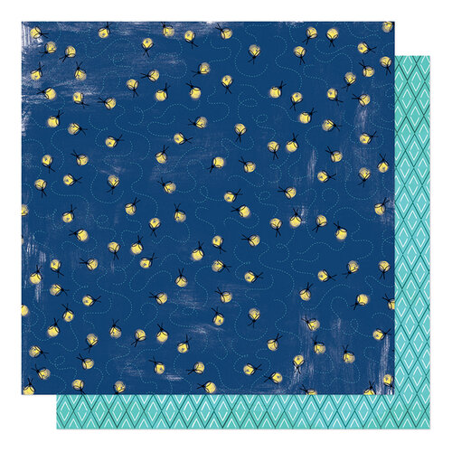 Shimelle Laine - Never Grow Up Collection - 12 x 12 Double Sided Paper - Past Bedtime
