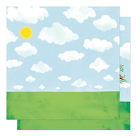Shimelle Laine - Never Grow Up Collection - 12 x 12 Double Sided Paper - Treehouse Dreams