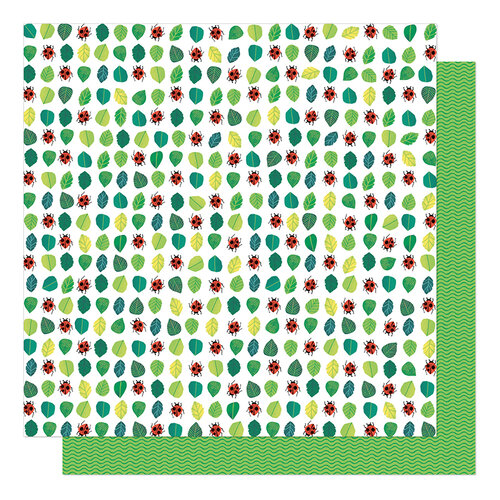 American Crafts - Never Grow Up Collection - 12 x 12 Double Sided Paper - Spotty Friends