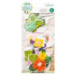 American Crafts - Never Grow Up Collection - Floral Ephemera