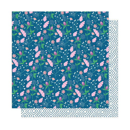 American Crafts - Here and Now Collection - 12 x 12 Double Sided Paper - Charming