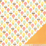 American Crafts - Dear Lizzy Neapolitan Collection - 12 x 12 Double Sided Paper - First Date