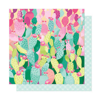 American Crafts - Here and Now Collection - 12 x 12 Double Sided Paper - Hot Hot Hot