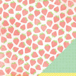 American Crafts - Dear Lizzy Neapolitan Collection - 12 x 12 Double Sided Paper - Pretty Please
