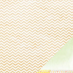 American Crafts - Dear Lizzy Neapolitan Collection - 12 x 12 Double Sided Paper - Hazy Horizon