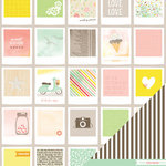 American Crafts - Dear Lizzy Neapolitan Collection - 12 x 12 Double Sided Paper - Dreamy Days
