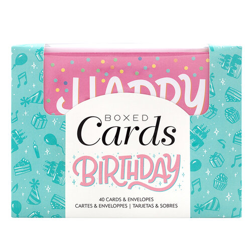 American Crafts - Boxed Cards - Birthday