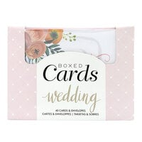 American Crafts - Boxed Cards - Wedding