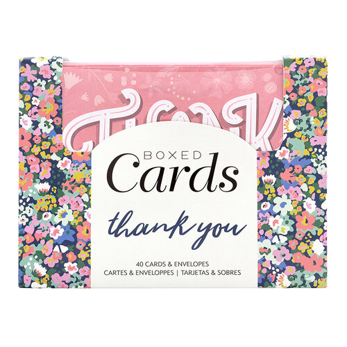 American Crafts - Boxed Cards - Thank You