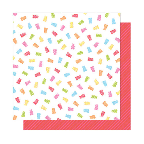 American Crafts - Here and Now Collection - 12 x 12 Double Sided Paper - Candy Girl