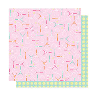 American Crafts - Here and Now Collection - 12 x 12 Double Sided Paper - Perfect Match