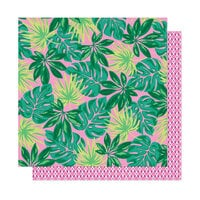 Dear Lizzy - Here and Now Collection - 12 x 12 Double Sided Paper - Paradise