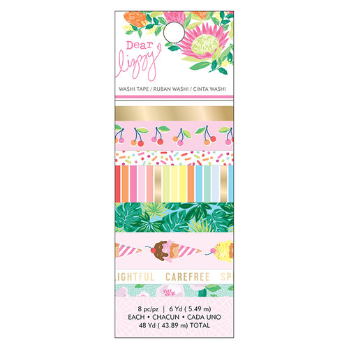 American Crafts - Here and Now Collection - Washi Tape with Foil Accents