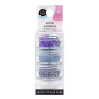 American Crafts - Color Pour Resin Collection - Glitter Set - Geode