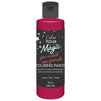 American Crafts - Color Pour Magic Collection - Pre-Mixed Pouring Paint - Wine