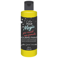 American Crafts - Color Pour Magic Collection - Pre-Mixed Pouring Paint - Yellow
