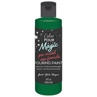 American Crafts - Color Pour Magic Collection - Pre-Mixed Pouring Paint - Forest